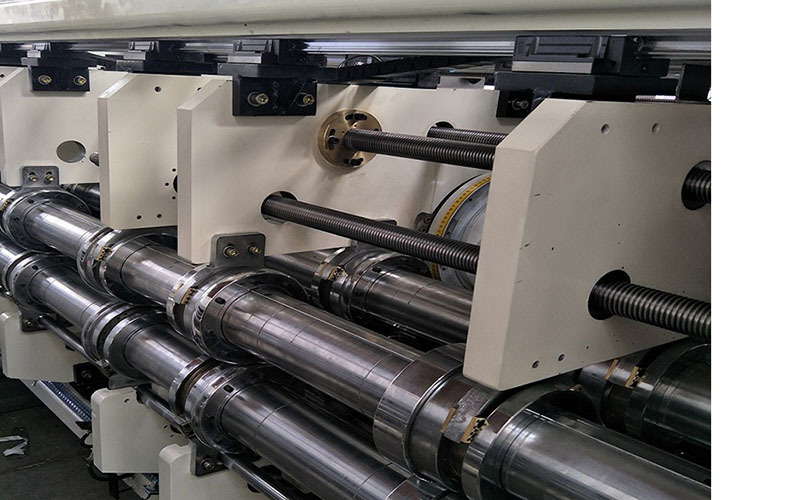 Automatic Pizza Box Printing Machine Corrugated Cardboard Flexo Print Slot Die Cut Equipment China 2021 New Type (2)