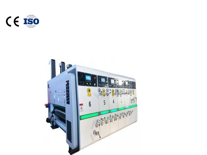Carton flexo printing slotting machine